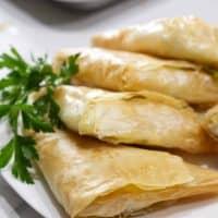 Greek Cheese Triangle Pies (Tiropita)