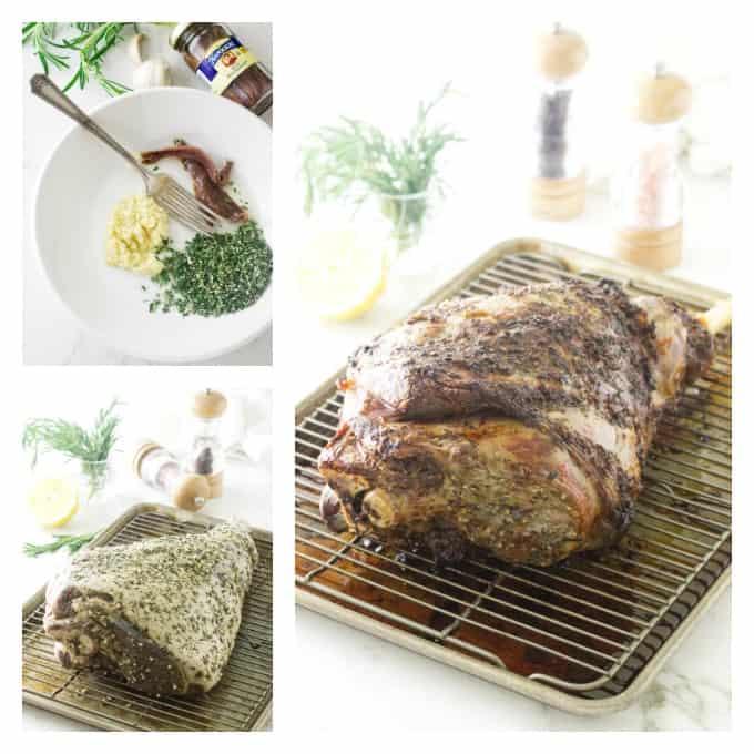 Herb Roasted Leg of Lamb