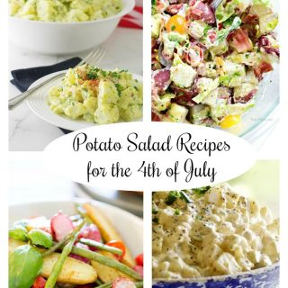 amazing potato salad recipes for the 4th of July