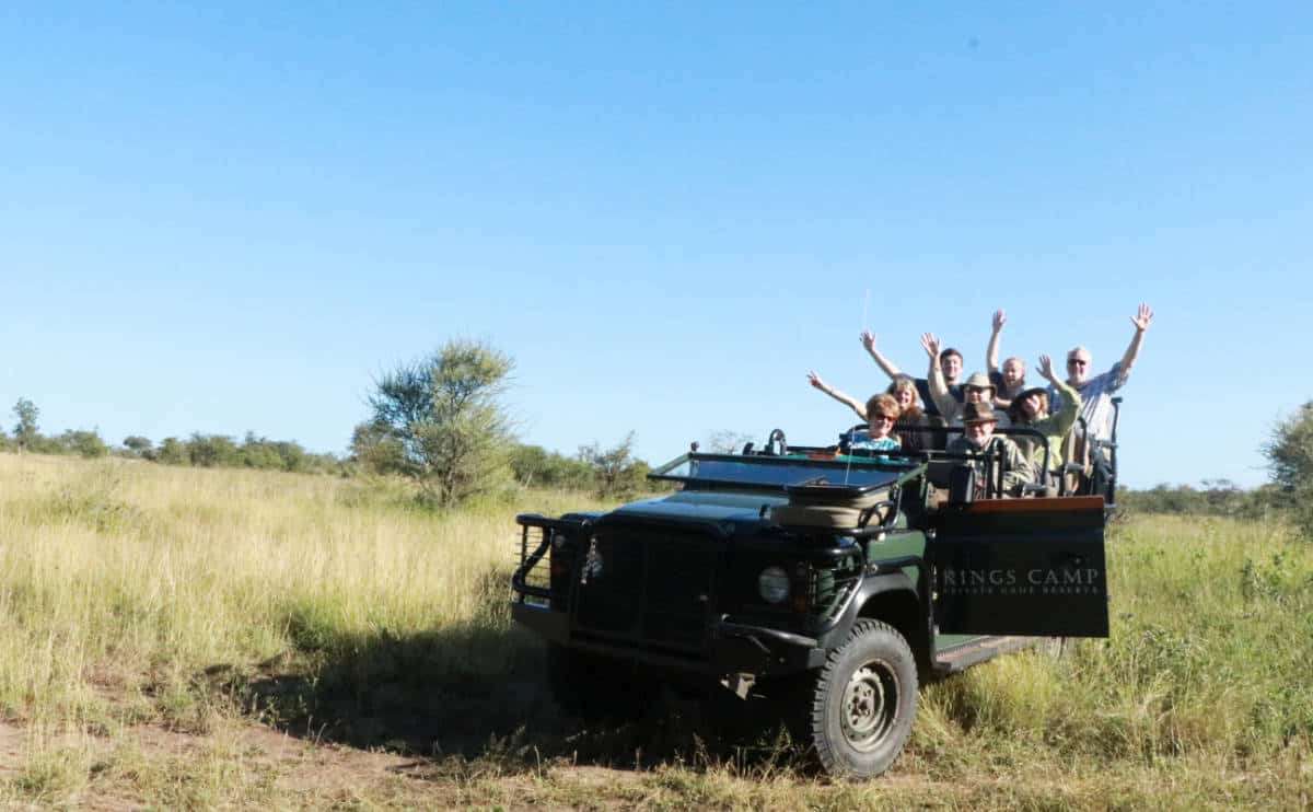 South African Safari Vacation
