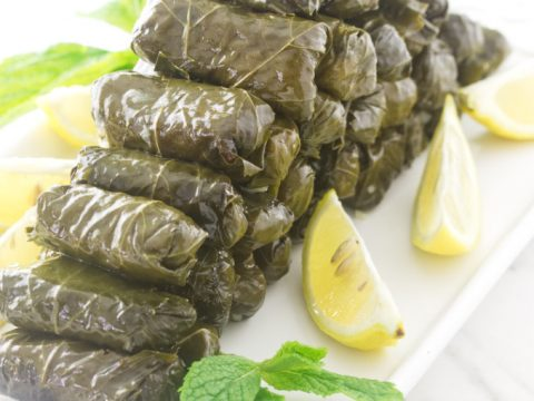 Greek Stuffed Grape Leaves Dolma Savor The Best
