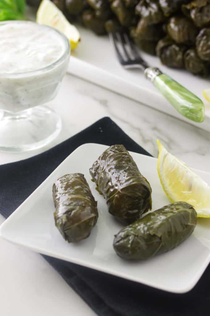 Greek Stuffed Grape Leaves (Dolma)