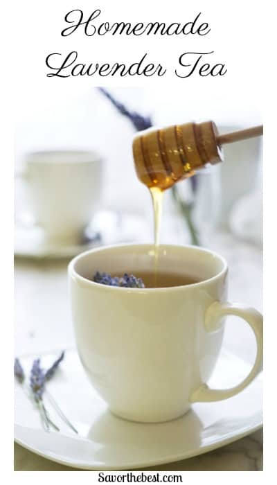 Lavender Tea with Honey