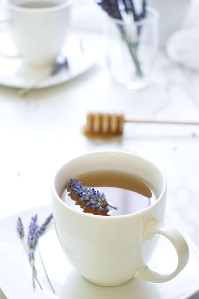 Lavender Tea with Honey