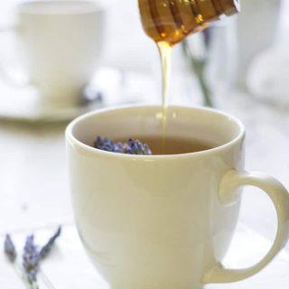 Homemade Lavender Tea