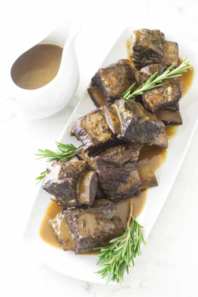 Red Wine Braised Beef Short Ribs