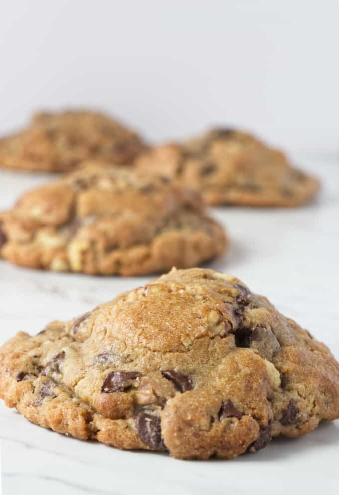Giant Levain Bakery chocolate chip cookie