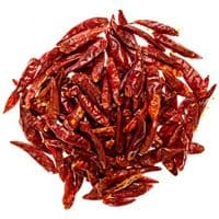 Soeos Szechuan Dried Chili,Dry Szechuan Pepper, Dry Chile Peppers, Sichuan Pepper, Dried Red Chilies, 4oz, (Very Mild Spicy)