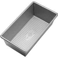 USA Pan 1140LF Bakeware Aluminized Steel 1 Pound Loaf Pan, Medium, Silver