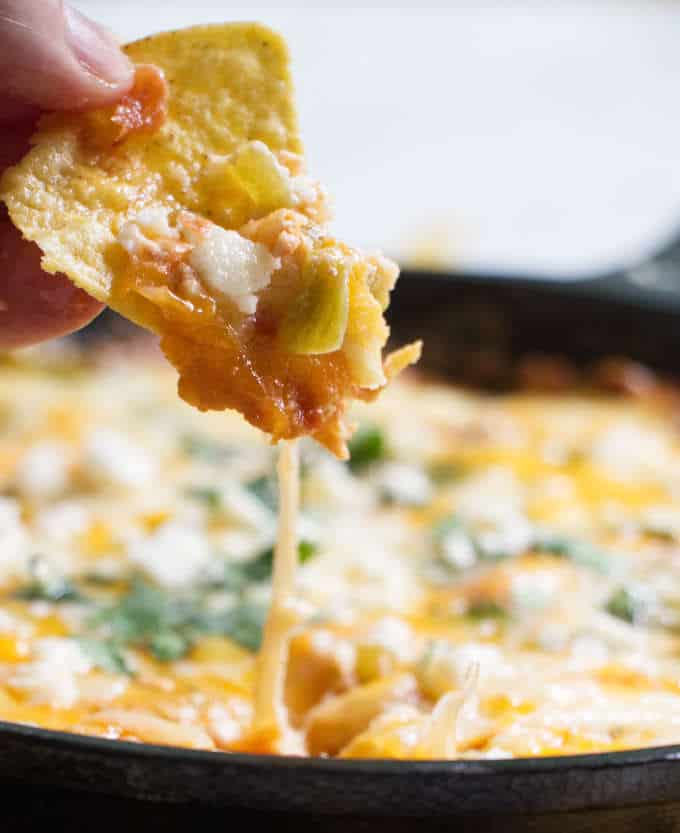 chili relleno dip and chip