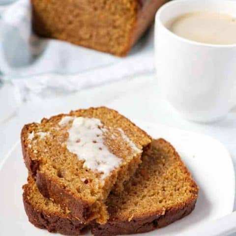 sweet potato bread with butter