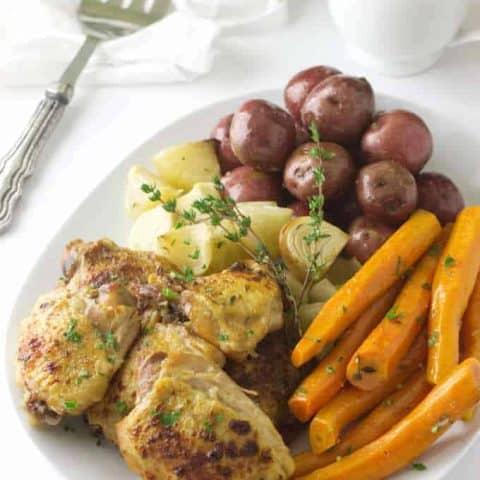 Crockpot Chicken and Vegetables