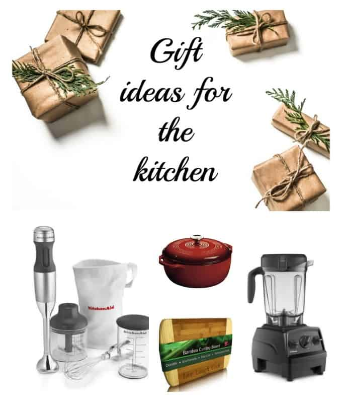collage for gift ideas for the kitchen