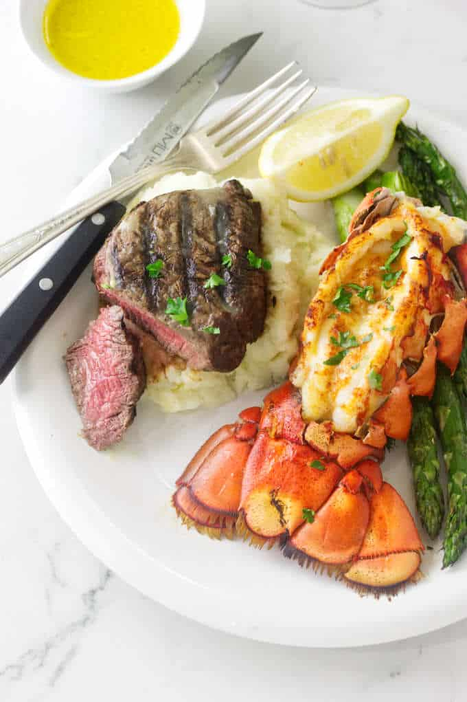 Better Than Outback Grilled Steak and Lobster Dinner ...