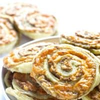 Olive and Cheese Pinwheel Appetizers