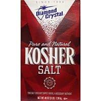 Diamond Crystal Kosher Salt, 48 Ounce (Pack of 1)