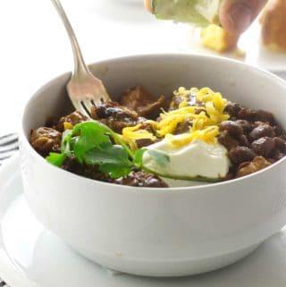 Chipotle Pork Chili Beans