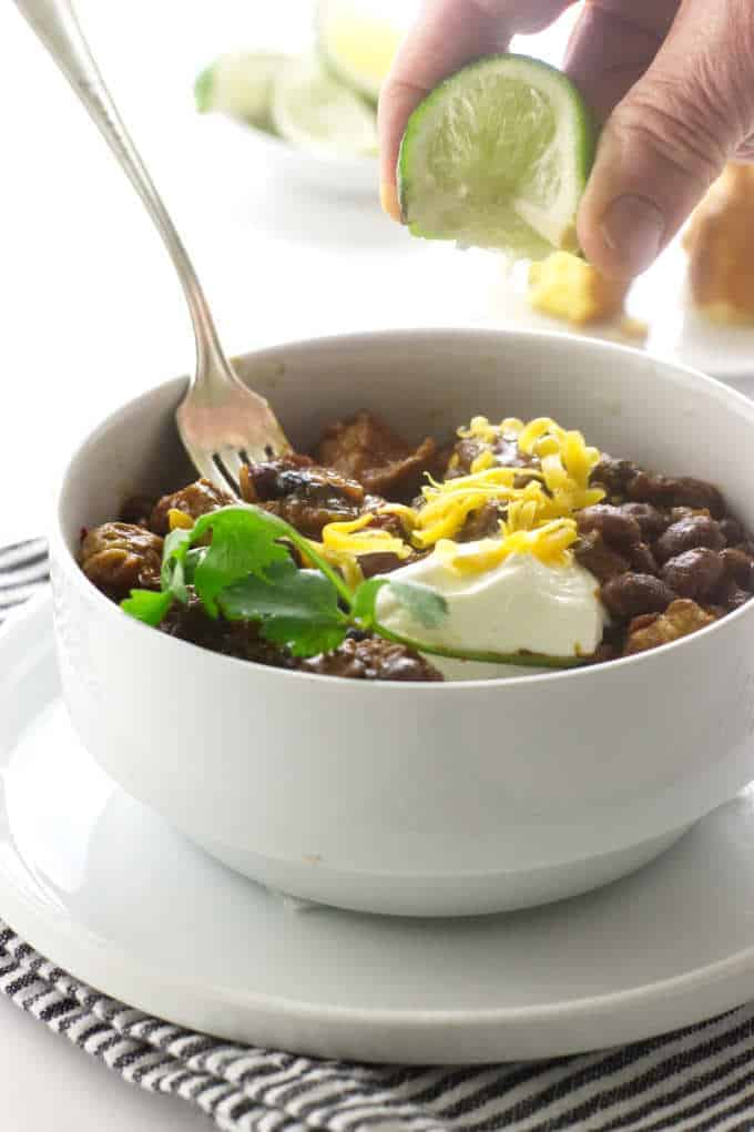 Chipotle Pork Chili Beans