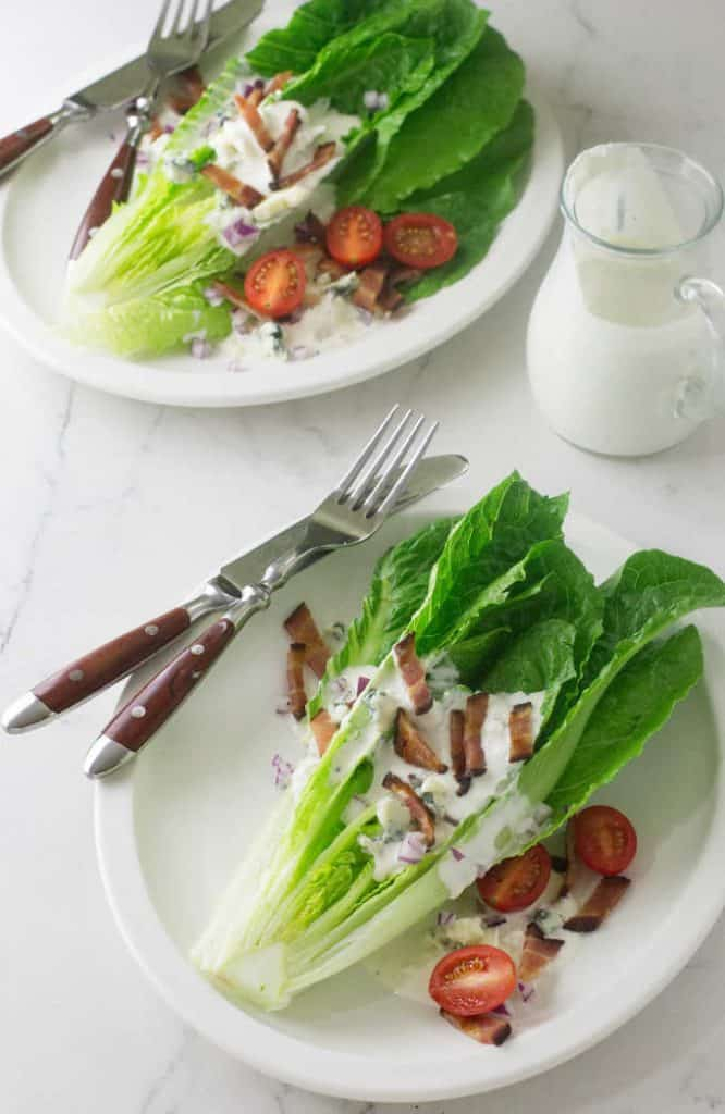Bacon and Blue Cheese Salad