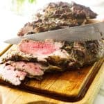 Butterflied Herb Roasted Leg of Lamb