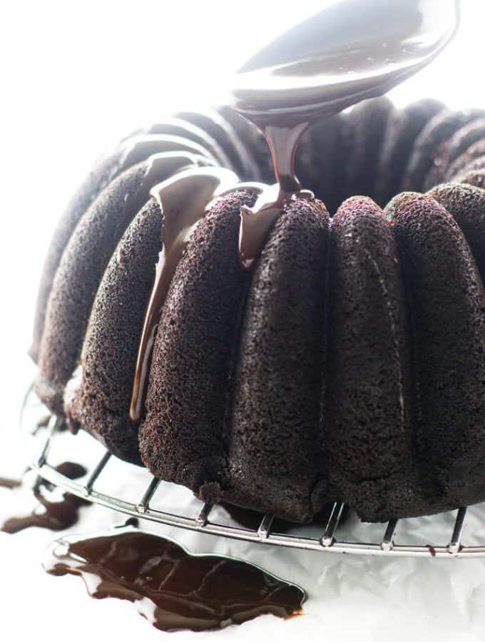 Gluten-Free Chocolate Bundt Cake