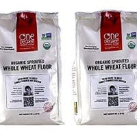 One Degree Organic Foods Sprouted Whole Wheat Flour, 80 Ounce (2-Pack)