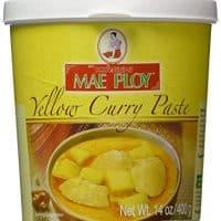 Mae Ploy Thai Yellow Curry Paste - 14 oz jar