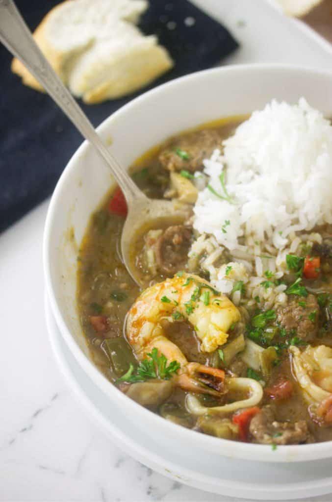 Creole Seafood Gumbo