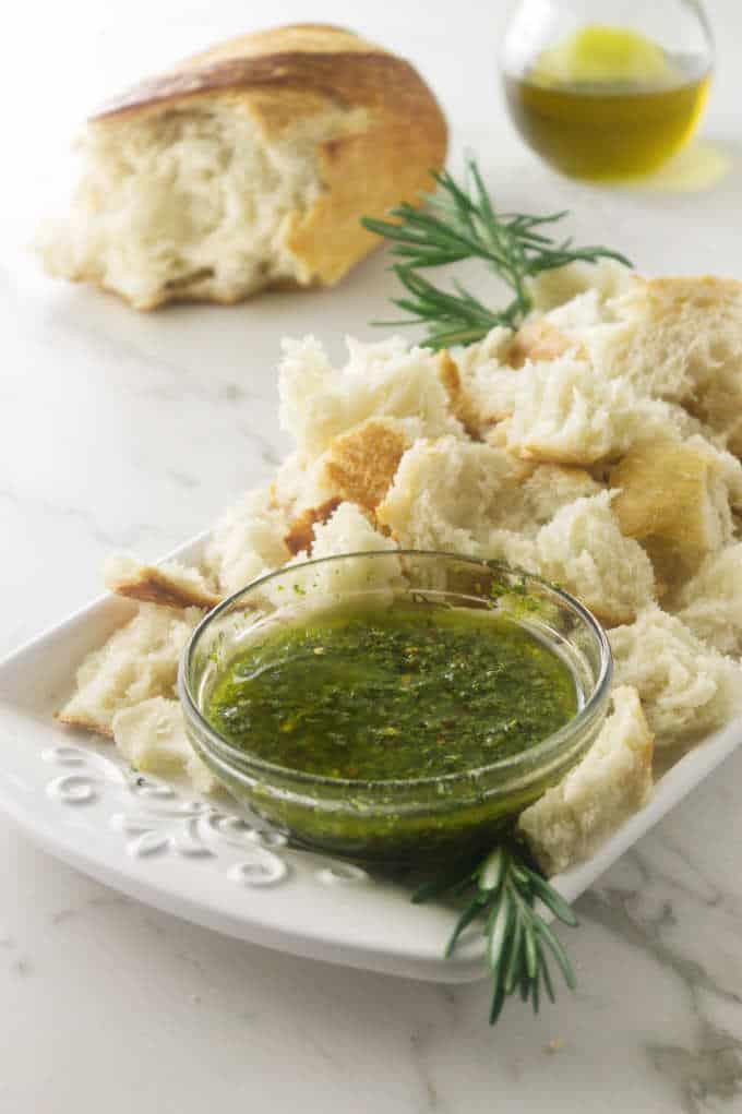 Herbed Olive Oil Dip