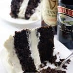Chocolate Guinness Cake with Baileys Cream Cheese Frosting