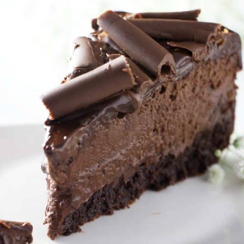 Triple Chocolate Brownie Cheesecake