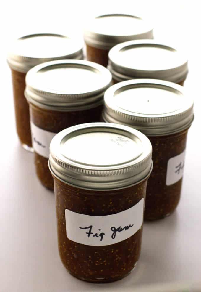 6 jars of Fig Jam