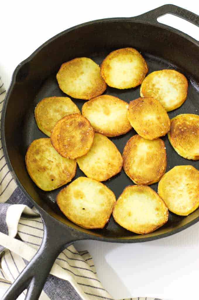 Pan Fried Potatoes Savor The Best