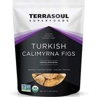 Terrasoul Superfoods Organic Turkish Figs (Calimyrna), 2 Pounds