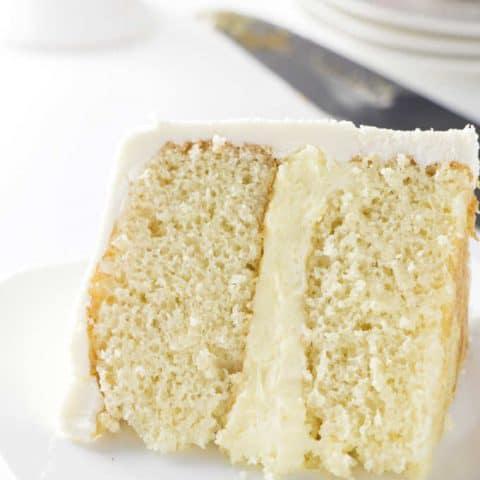 6-inch Cake Recipe (Yellow Cake)