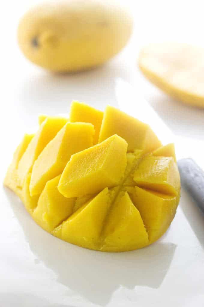 "Mango ""Ice Cream"""