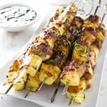 Grilled Pineapple Chicken Kabobs