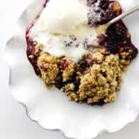 Blackberry Crumble (Easier Than Pie)