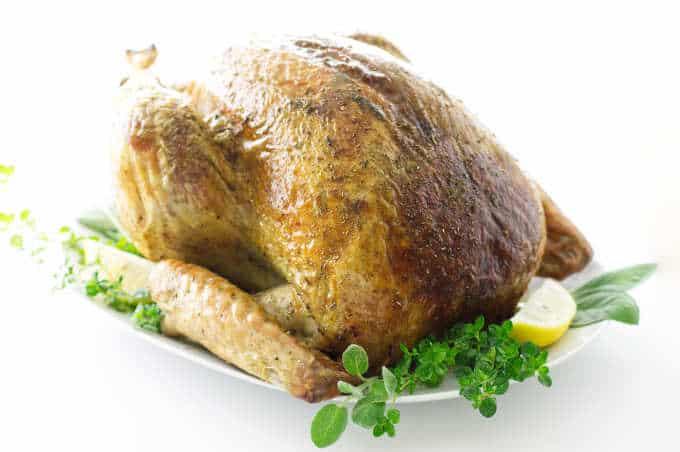 Dry Brined Herb Roasted Turkey
