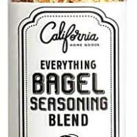 XL Bottle Everything Bagel Seasoning Blend 10 Ounce Bagel Allspice, Sesame Seasoning Spice Shaker, Delicious Blend of Sea Salt and Spices Sesame Garlic Powder Onion Flakes, Multi Seasoning Shaker Jar
