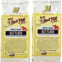 Bob's Red Mill Whole Grain Oat Flour, 22 oz, 2 pk