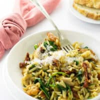 One Pot Chicken Orzo