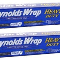 Reynolds Wrap Heavy Duty Aluminum Foil, 50 Square Feet ~ 2 Pack