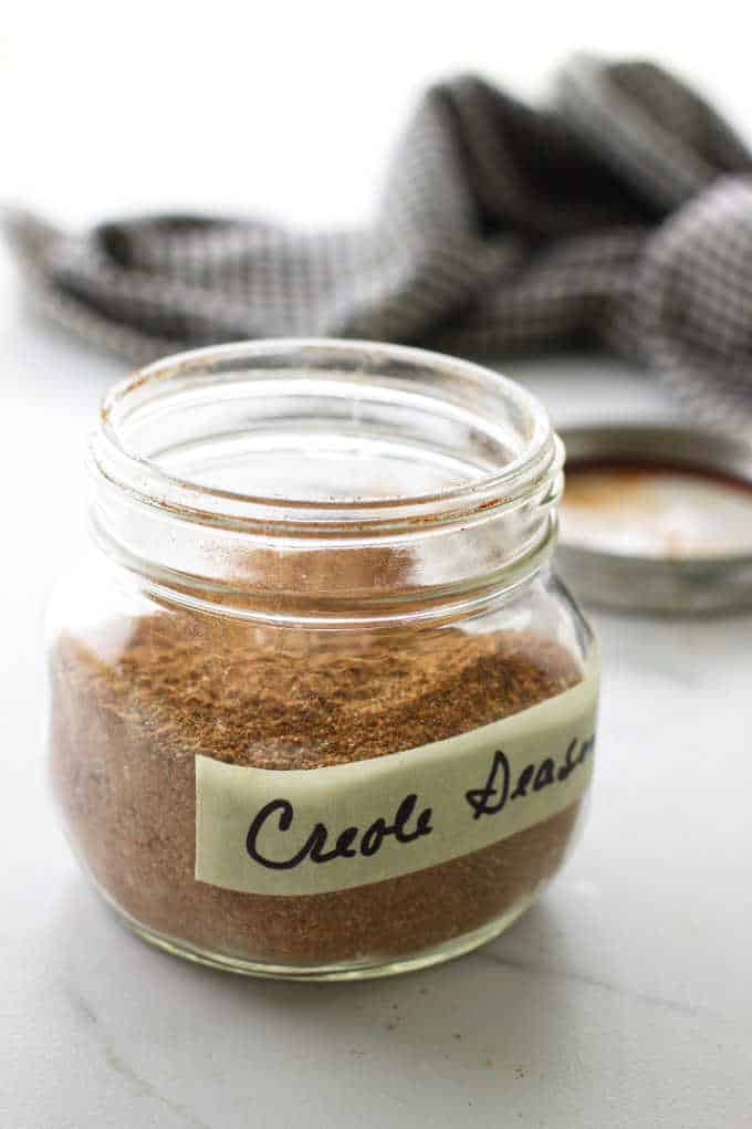 gar of creole seasoning mix