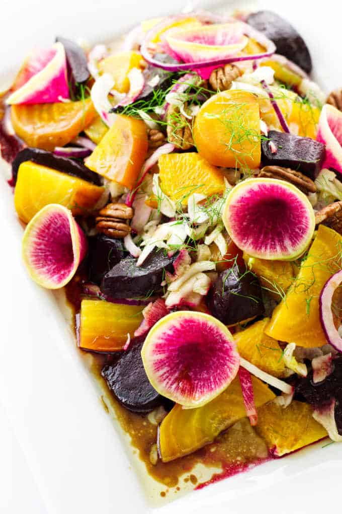 Roasted Beet Salad With Fennel And Radish Savor The Best