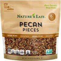 Nature's Eats Pecan Pieces, 24 Ounce