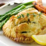 Salmon and Crab Wellington