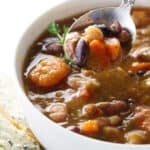 Instant Pot 15 Bean Soup (video)