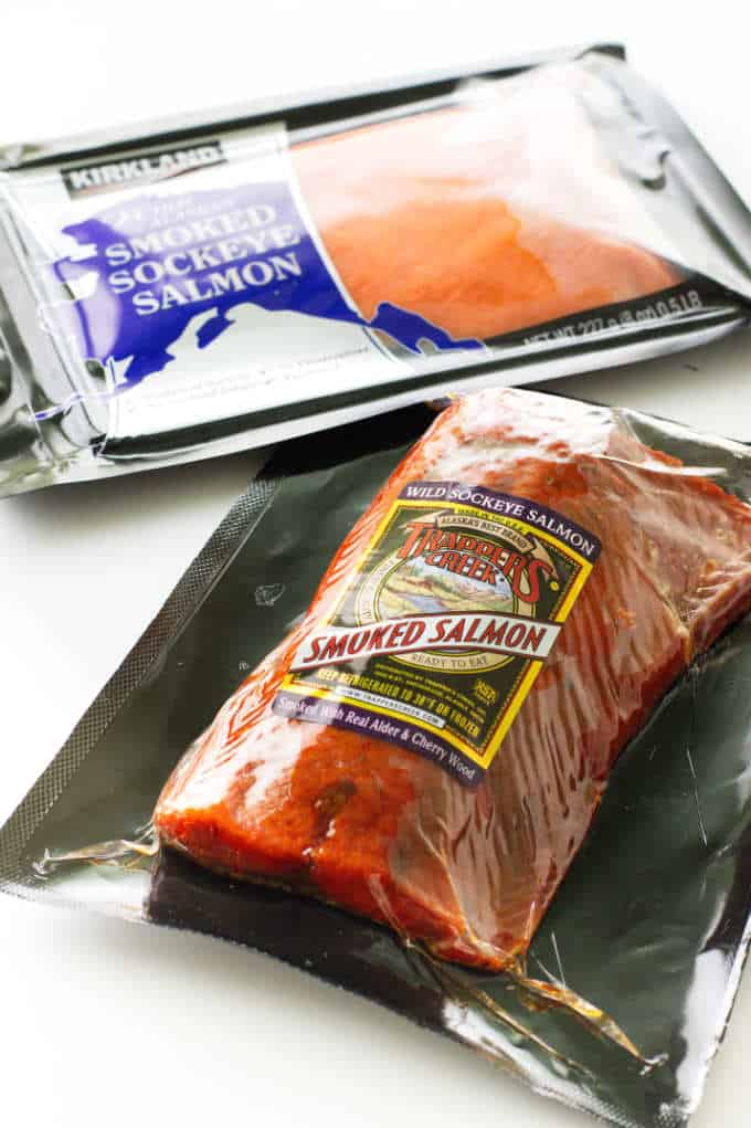 smoked salmon packages
