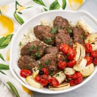 Broiler Kebab Sheet Pan Meal » Big Flavors from a Tiny Kitchen